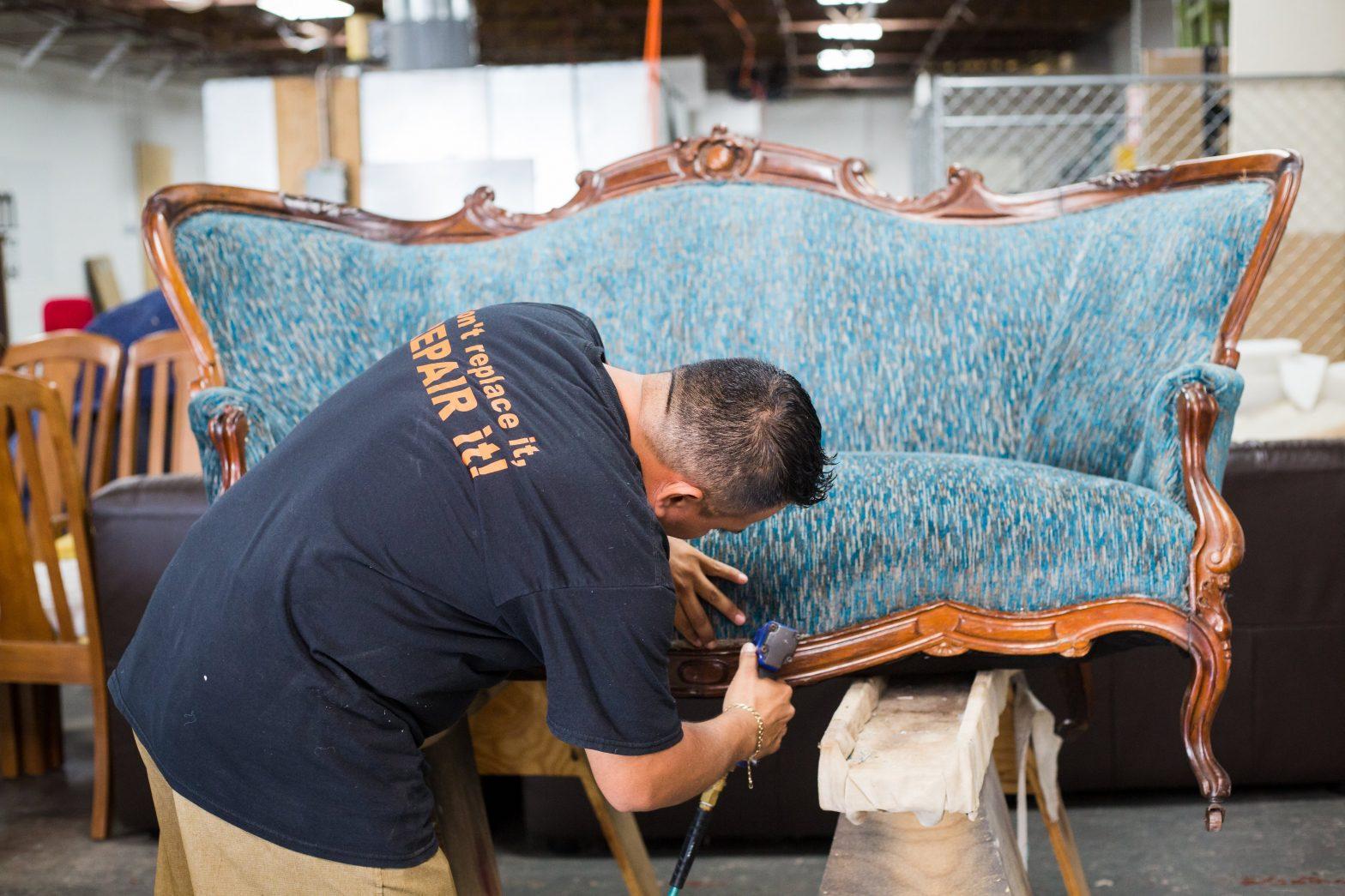 Upholstery Repair Service